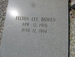 Felton Lee Bowen