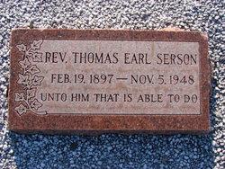 Rev Thomas Earl Serson