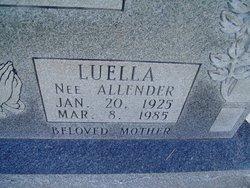 Luella <I>Allender</I> Cope