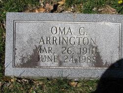 Oma G. Arrington