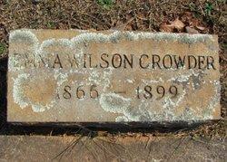 Emma <I>Wilson</I> Crowder