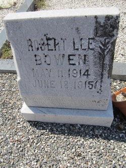 Robert Lee Bowen