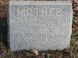 Helen B. <I>Crossman</I> Dewey