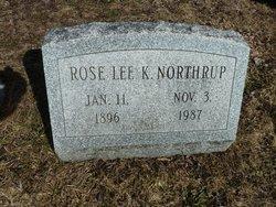 Rose <I>Lee</I> Northrup