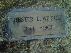 Hester <I>Lail</I> Wilson
