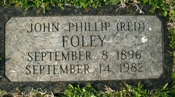 "John Phillip ""Red"" Foley"