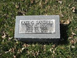 Kate G Sanders