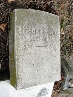 Capt Clement Robert Leonard, Sr
