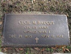 Cecil M. Baucus