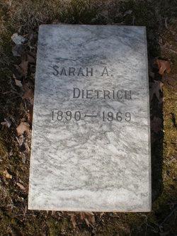 Sarah A. <I>Stuber</I> Dietrich