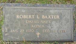 """Robert Lee """"Bob"""" Baxter"""