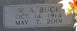"""W. A. """"Buck"""" Blizzard"""