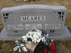 Mary Ann <I>Russell</I> Meares