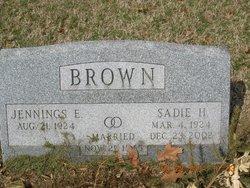 Sadie H Brown