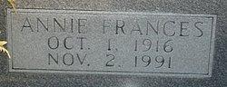 Annie Frances Blizzard