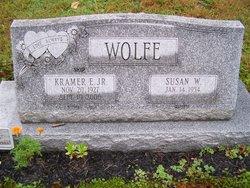 Susan W <I>Hostetter</I> Wolfe