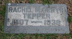 Rachel M. <I>Gerth</I> Tepper