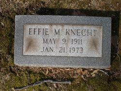 Effie M. Knecht