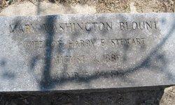 Mary Washington <I>Blount</I> Stewart