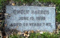 Emely Amandaville <I>Cravens</I> Harper