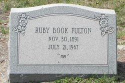 Ruby Debora <I>Book</I> Fulton