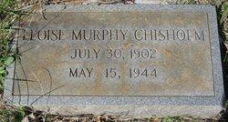 Eloise <I>Murphy</I> Chisholm