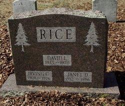Janet D Rice