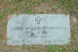 Alfred William Peterman, Sr