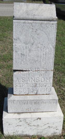 Annie A <I>Chandler</I> Sansom