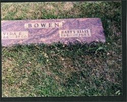 Harry Ellis Bowen