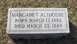 """Margaret """"Maggie"""" <I>Edwards</I> Althouse"""