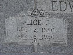 Alice C <I>Sammons</I> Edwards