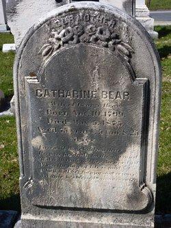 Catharine <I>Graybill</I> Bear