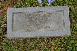 Zelma <I>Whorton</I> Anderson