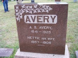 "Julia Jeannett ""Nettie"" <I>Osborn</I> Avery"
