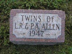 Infant Twins Allen