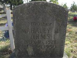 Mahaley Melvina <I>Hall</I> Arms