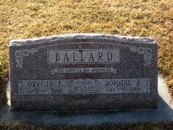 Orville Ernest Ballard