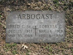 Fred C Arbogast