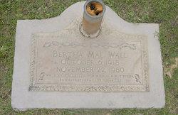 Bertha Mae <I>Hinton</I> Wall