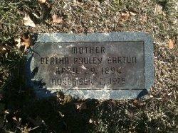 Bertha G. <I>Pauley</I> Barton