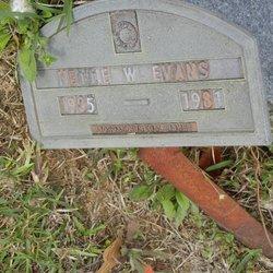 Nettie W Evans