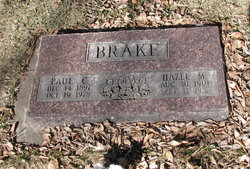 Hazel M Brake