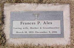 Frances P. <I>Newmark</I> Alex