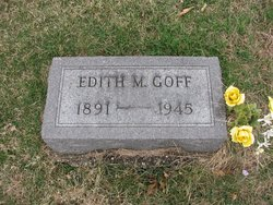Edith Mae <I>Purman</I> Goff