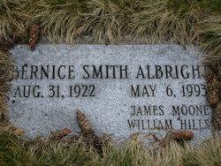 Bernice <I>Smith</I> Albright