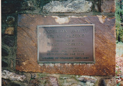 Anderson Family Burying Ground