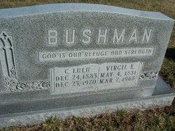 Clara Lulu <I>Puterbaugh</I> Bushman
