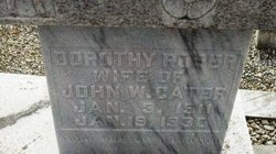 Dorothy <I>Roper</I> Cater