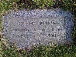 Aleida <I>De Haan</I> Koops